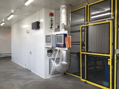ACR réalise une salle blanche conditionnée, pour la sidérurgie