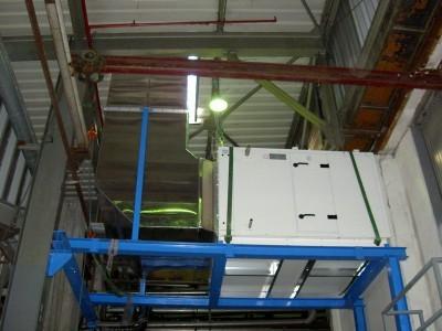 Ventilation machine à papier