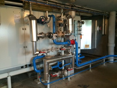 Ventilation laboratoire