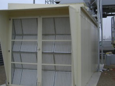 Ventilation turbines gaz